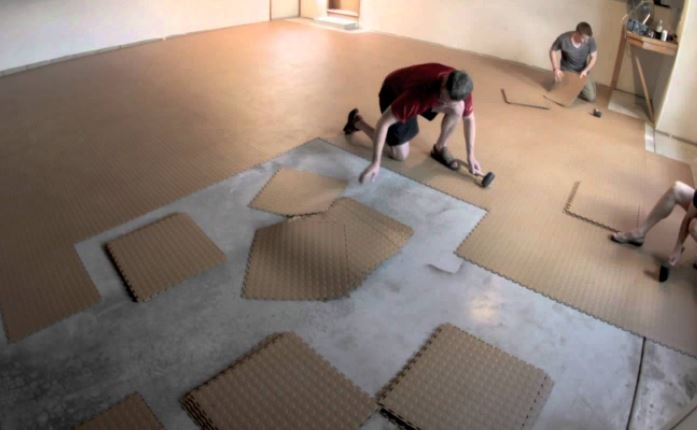 Best garage floor covering options